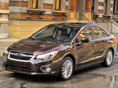 Motor Trend: Japanese car photos 2012 SUBARU Impreza