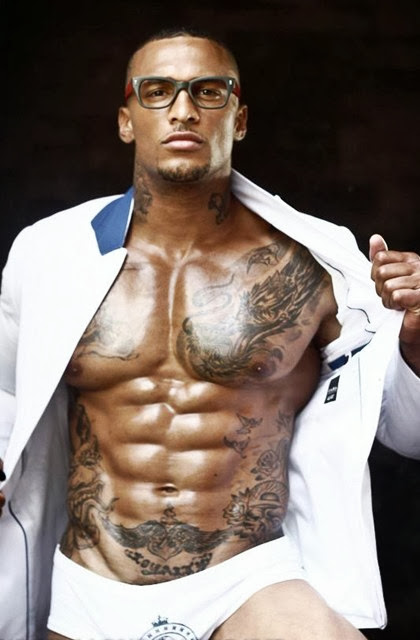 Sexy Male Bodybuilders with Hot Tattoos