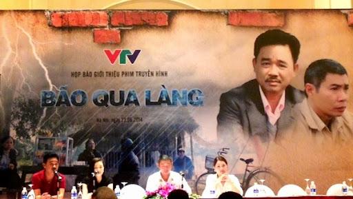 Bão qua làng - phim về đề tài nông thôn lên sóng VTV1