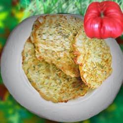 Рецепт приготовления кабачковые оладьи с сыром