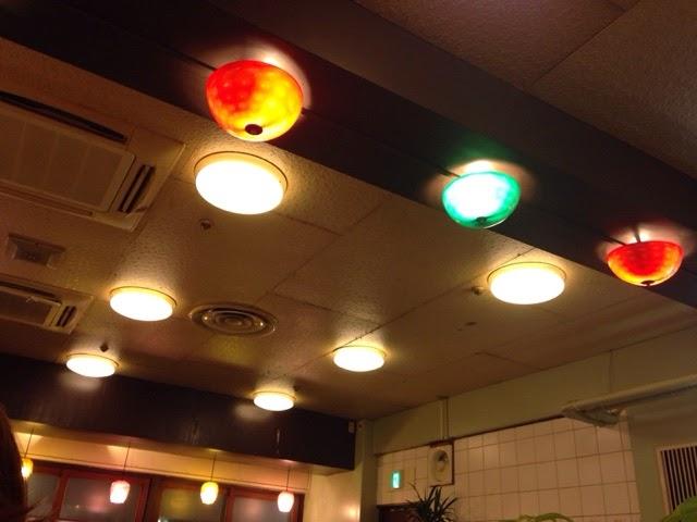 古久家 藤沢店 店内照明