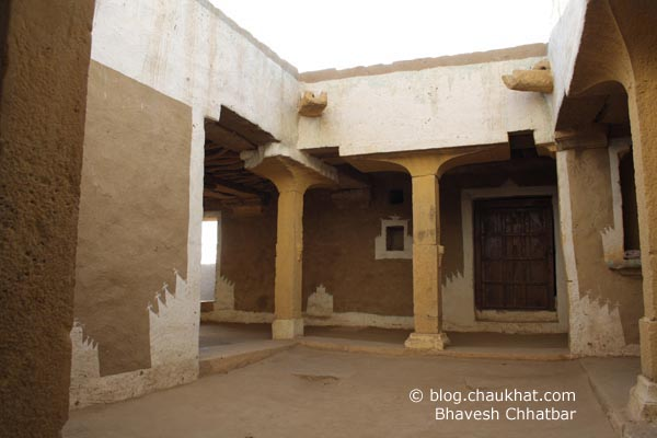 Kuldhara Village in Jaisalmer - Rebuilt House from Inside