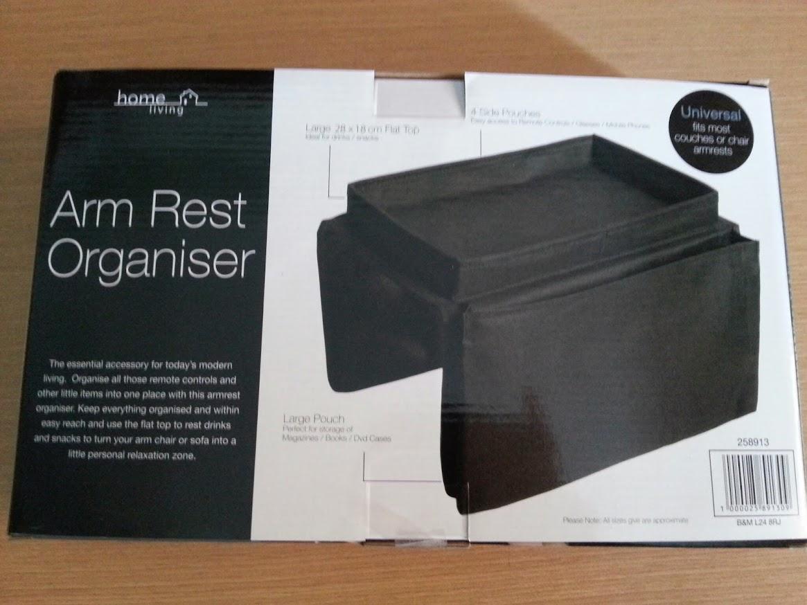 Organizador brazo sofa sillon arm rest organiser holder - Organizador mandos a distancia ...