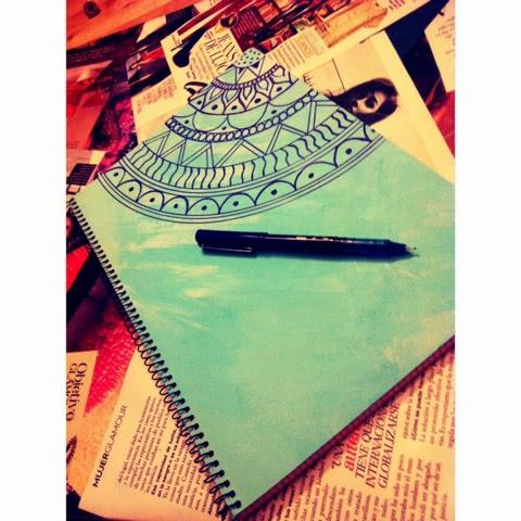 Maria ruiz diy decora tus cuadernos vueltaaclases - Como decorar cuadernos ...