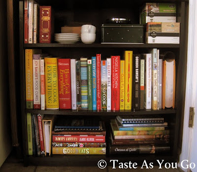 Cookbook Corner - Photo by Michelle Judd of Taste As You Go