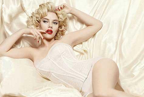 Scarlett Johansson a lo marylin