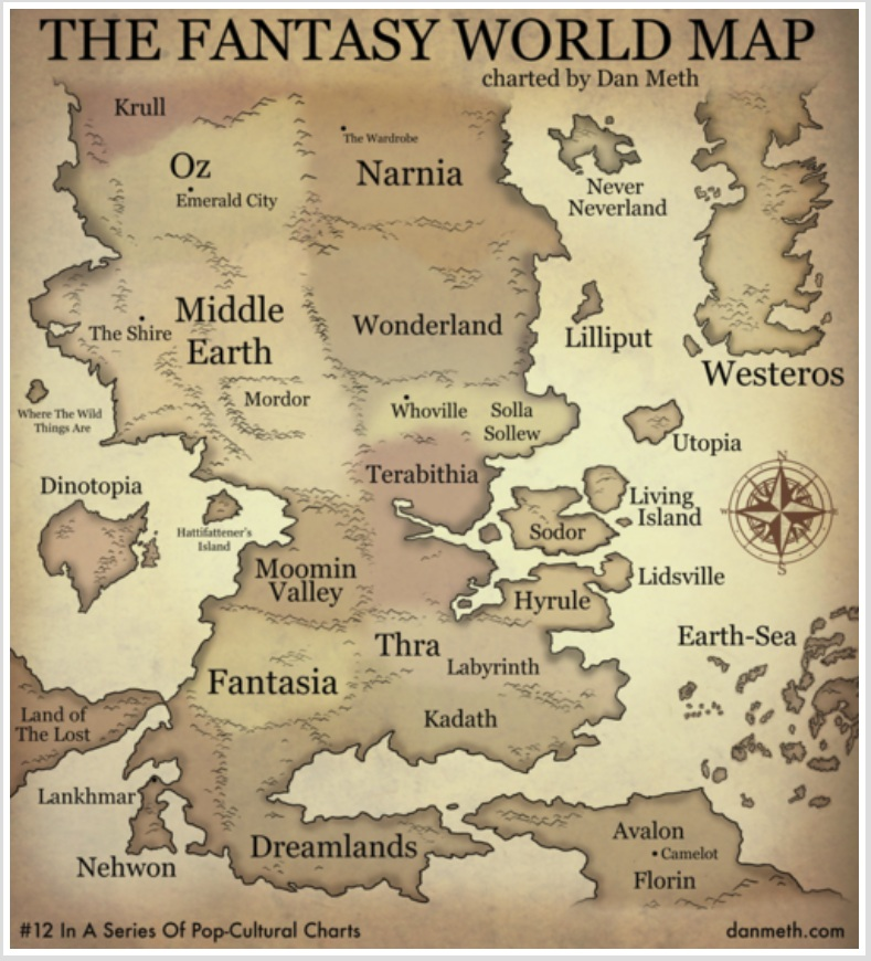 BLADE 7184: The Fantasy World Map We Wish Existed