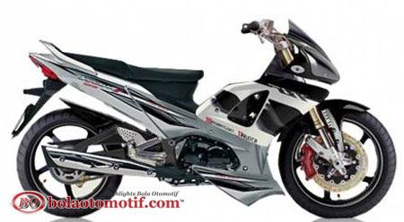 Modifikasi Extriem Motor Honda Supra X 125 c