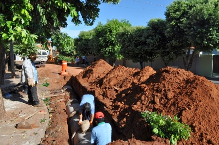 Alameda Rio Pardo esquina com a Alameda Rio Paranaíba, no bairro Beira Rio.