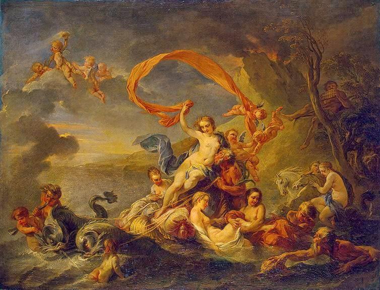 Jean-Baptiste van Loo - Triumph of Galatea