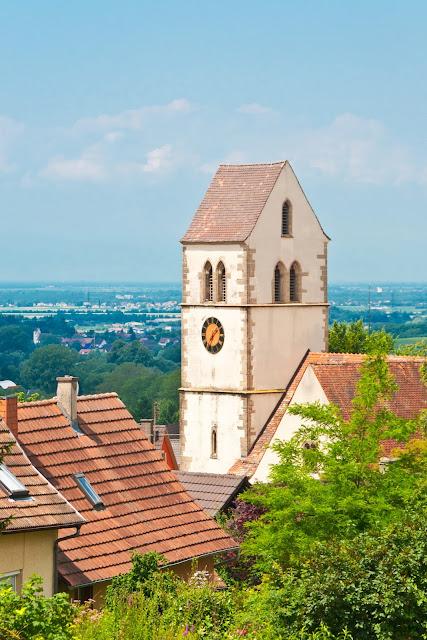 Britzingen und Rheinebene