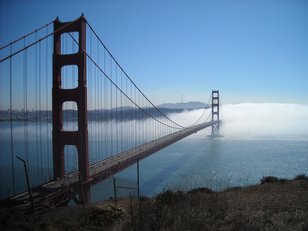 """Golden Gate Bridge – San Francisco, California"" photography by Theresa Scott."