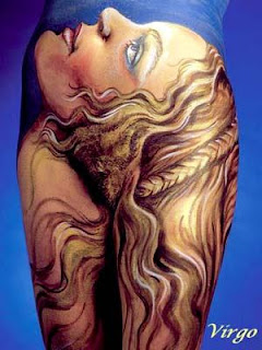 Zodiac Sign Symbols Body Painting Pictures