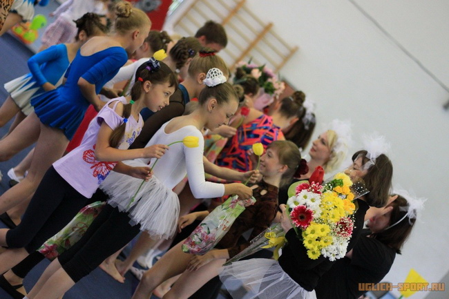 Праздник спорта и танца в ДЮСШ