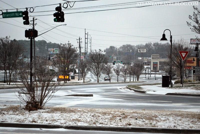 Ледяной дождь в Атланте