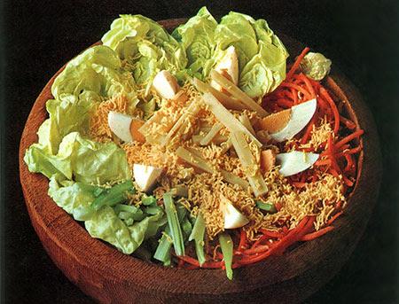 insalata uova sode carote verdure
