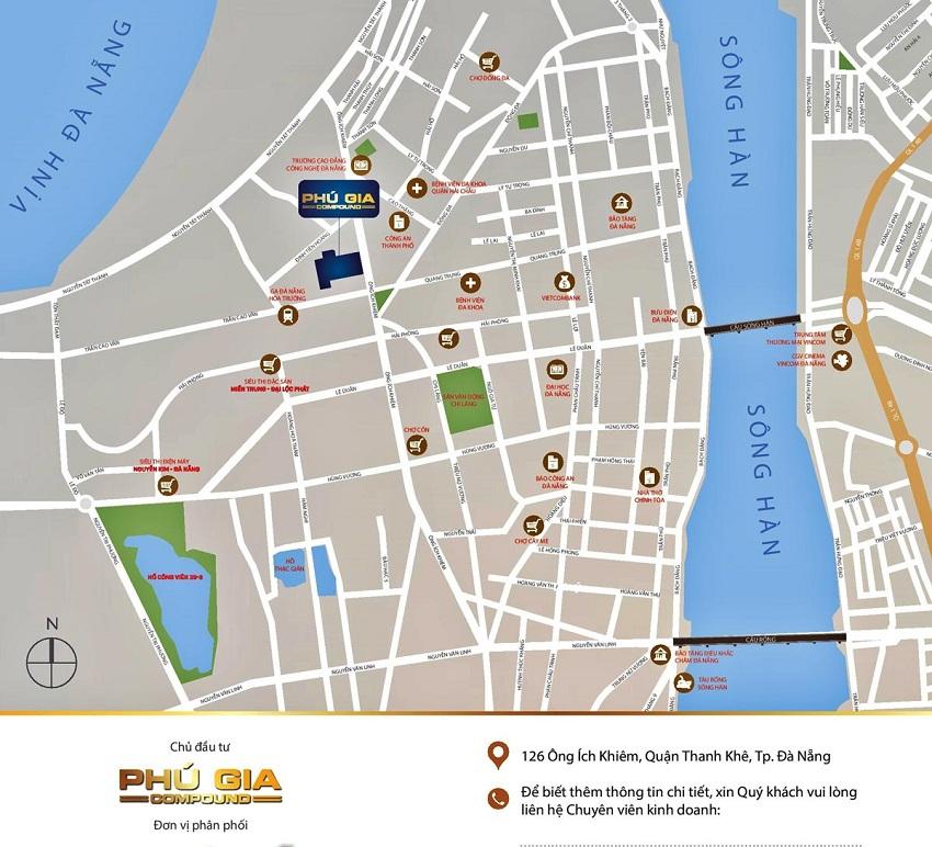 Vị trí vàng dự án Phú Gia Compound