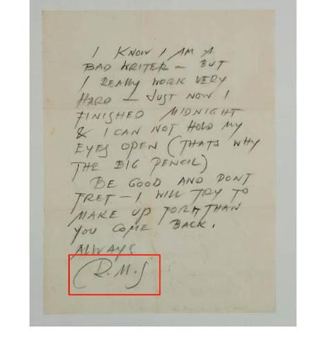Letter from Rudolph Schindler to Ellen Janson