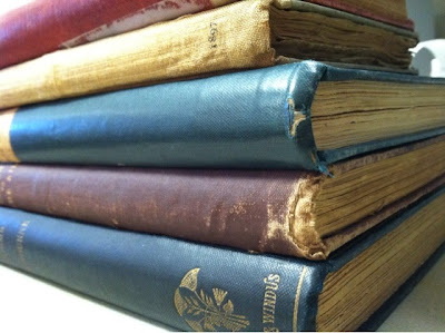 old books, antique
