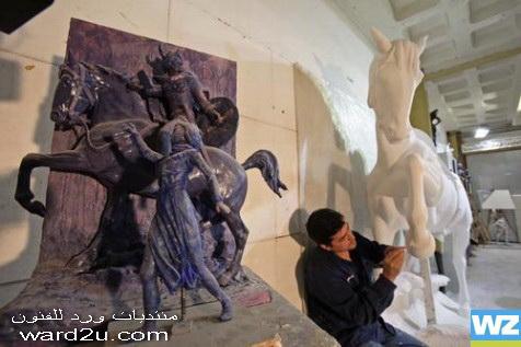 النحات الكوردي شوان كمال