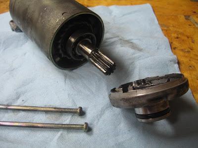 Starter Motor Cleaning Tutorial IMG_9470