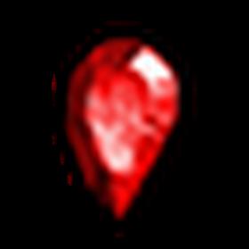 無瑕疵的紅寶石