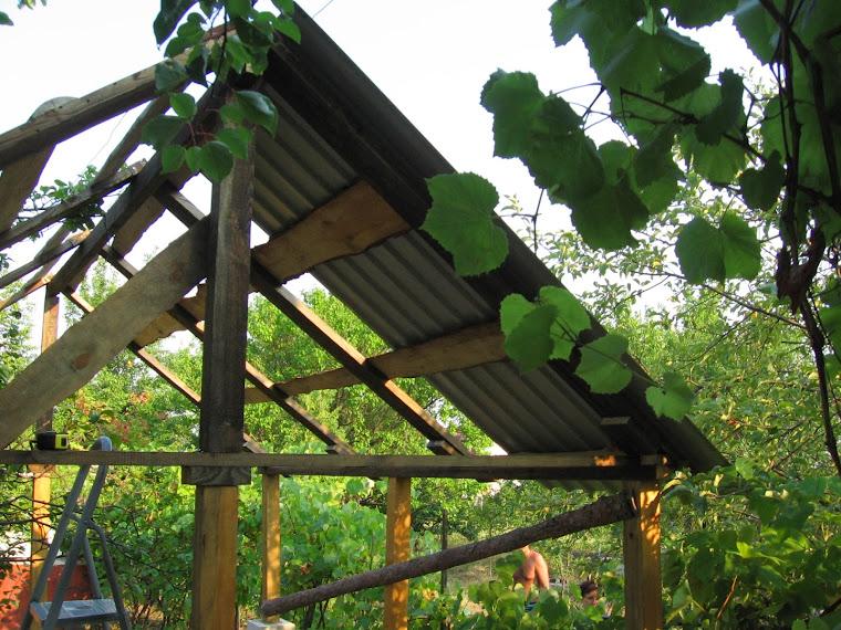 Дача: Строим сами: постройка беседки на приусадебном участке (часть 1)