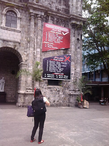 Team Patay vs Team Buhay poster in Bacolod