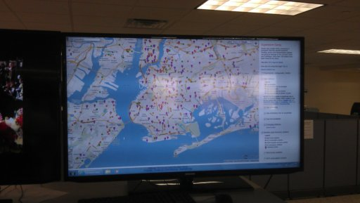 A status update of gasoline outages in Brookly and Queens