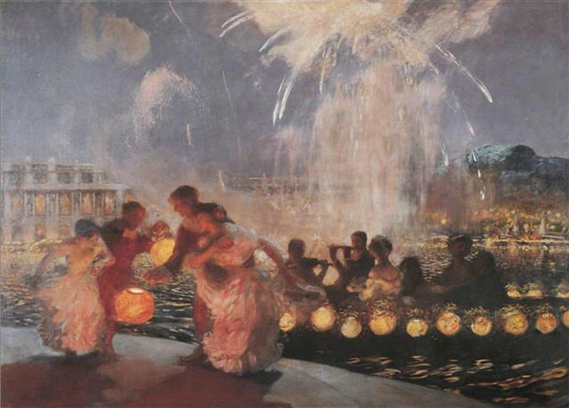 Gaston La Touche - The Joyous Festival, ca. 1906.