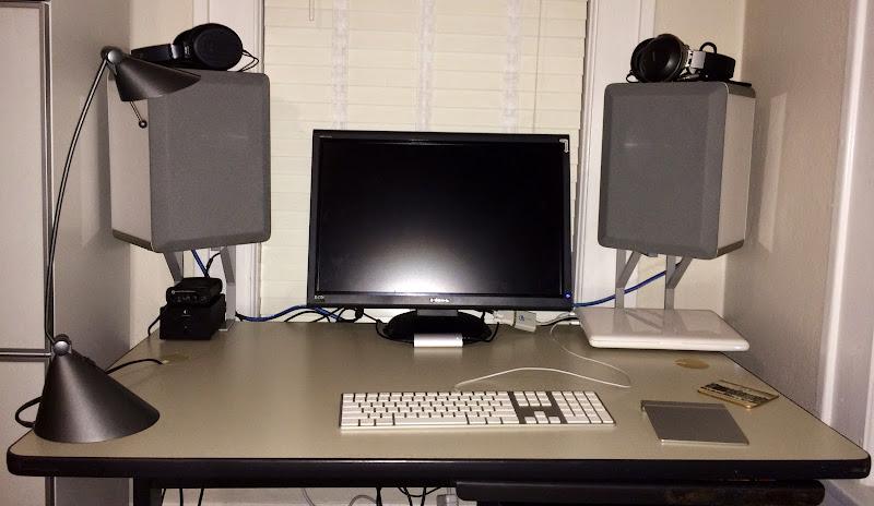 speakers desk. twenty dollar* desktop speaker clamp-mount speakers desk u