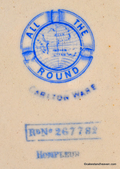 All The Round Carlton Ware Rg. No. 267782 c.1895