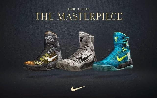 cheaper 4cfc1 7eced Nike Kobe 9 Elite New Colorways