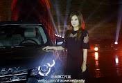 2014.09.19_Triệu Vy tại lễ ra mắt xe Discovery Sport của LAND ROVER