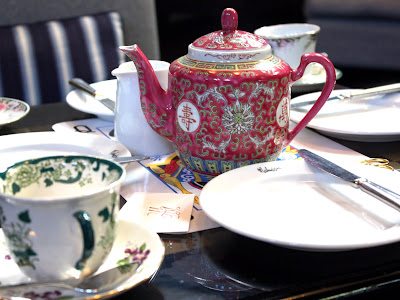 Afternoon tea at the Malmaison hotel in Oxford