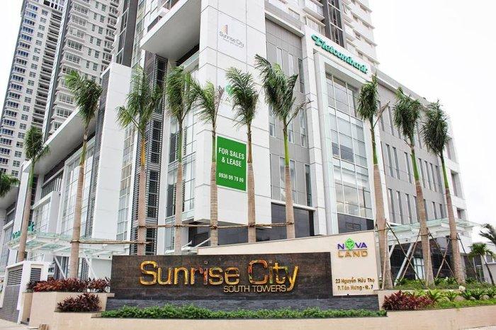 Căn hộ Sunrise City - Toàn cảnh khu South
