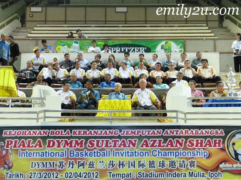 DYMM Sultan Azlan Shah International Invitational Basketball Championship 2012