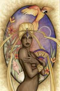 Oshun Water Goddess Of The Yoruba People Image