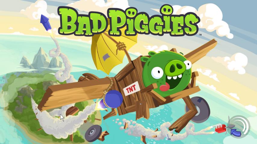 Bad Piggies | เกมส์หมูเขียวไล่ล่าหาแผนที่ |โหลดเกมส์แอนดรอยด์ฟรี