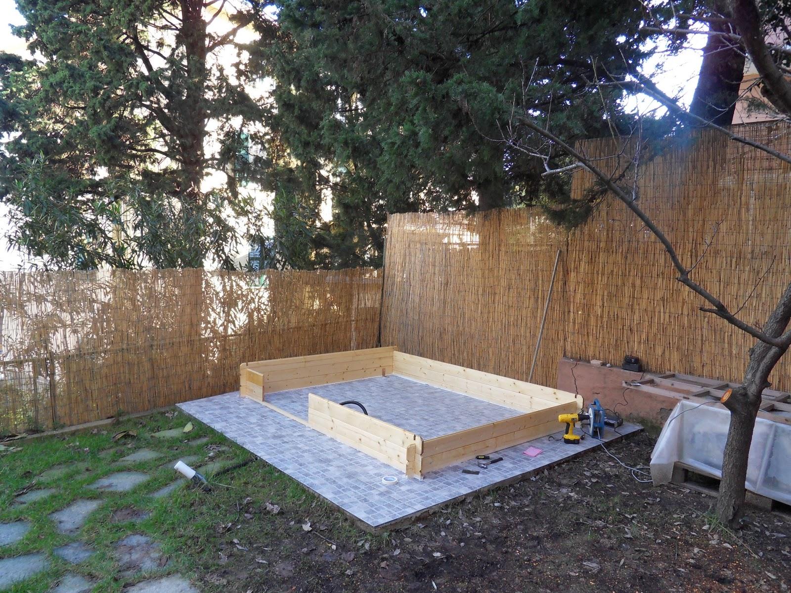 Il tuo architetto a genova casette di legno arredano il giardino