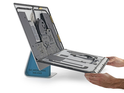 iMac 5K Retinaディスプレイの分解