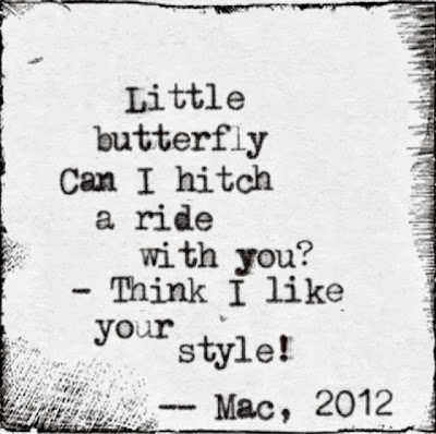Little Butterfly (Haiku)