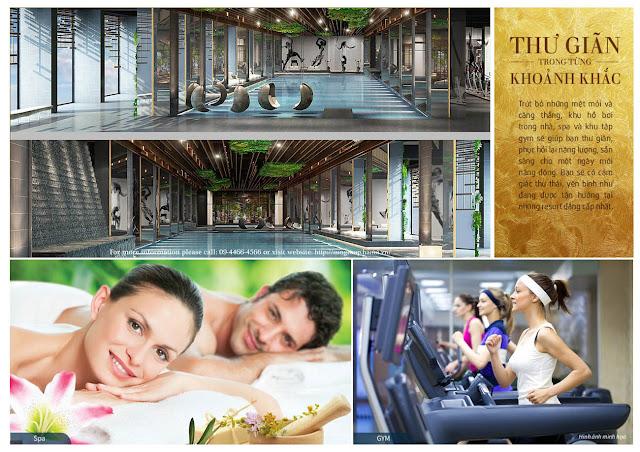Hệ thống tiện ích cao cấp tại dự án chung cư Sun Grand City Thuy Khue Residence