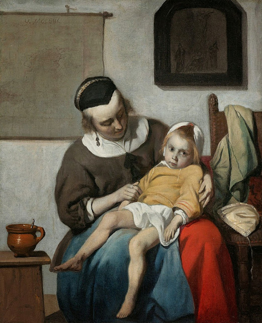 Gabriel Metsu - The Sick Child - Google Art Project