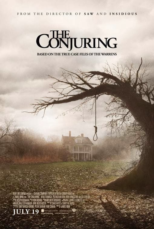 Poster Of The Conjuring (2013) Full Movie Hindi Dubbed Free Download Watch Online At Alldownloads4u.Com