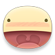 Shocked Facebook sticker