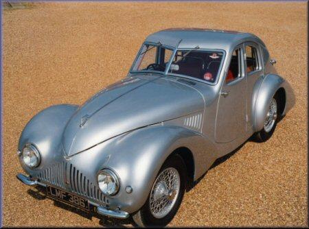 Aston Martin Atom, 1939 г.