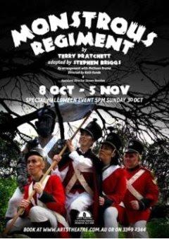 plakat Potwornego Regimentu