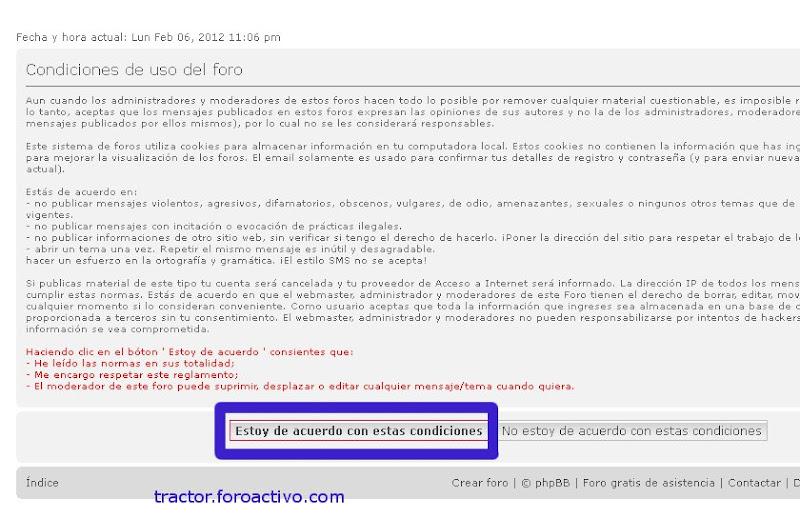 [AYUDA] Cómo comenzar en el foro: Registro y primer mensaje Registro2