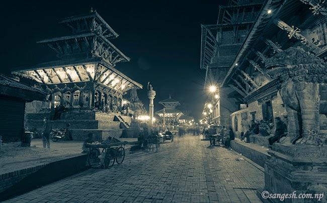Mangal Bazar Patan Durbar square